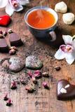 St.-Valentinsgruß-Grußkarte Lizenzfreie Stockfotos