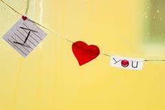 St Valentinsgruß-Tag Stockbilder