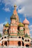 St. Vasil Kathedraal op het Rode Vierkant Stock Foto's