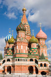 St. Vasil's Cathedral on the Red Square Stock Photos