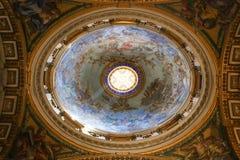 st vatican Италии peter s базилики Стоковая Фотография