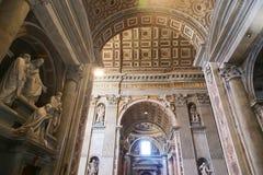 st vatican Италии peter s базилики Стоковая Фотография RF