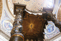 st vatican Италии peter s базилики Стоковые Фото