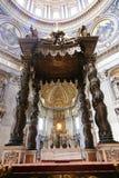 st vatican Италии peter s базилики Стоковое Изображение RF
