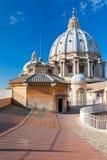 st vatican för basilicapeter tak s Fotografering för Bildbyråer