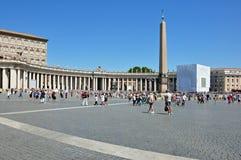 st vatican peter базилики квадратный Стоковое фото RF