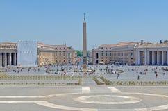 st vatican peter rome s города квадратный Стоковая Фотография