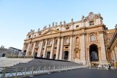 st vatican peter rome s квадратный Стоковые Фотографии RF