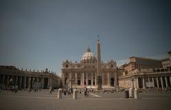 st vatican peter s базилики Стоковая Фотография