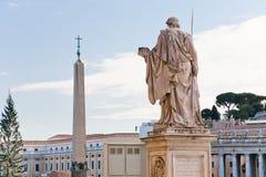st vatican pio аркады Италии peter квадратный Стоковые Фотографии RF