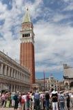 st venice метки s Италии квадратный Стоковая Фотография