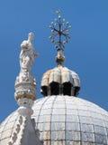 st venice för basilica domkyrka di marco fläck s san Royaltyfria Bilder