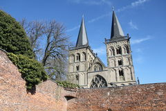 St. Victor's Cathedral Xanten, Germany Royalty Free Stock Photography