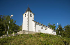 St. Vid church, Tuhinj valley, Slovenia Stock Photo