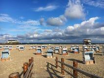 St vide Peter-Ording de plage photo libre de droits