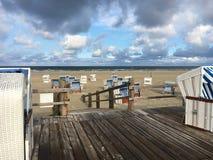 St vide Peter-Ording de plage images stock