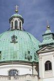 st vienna för Österrike charles kyrklig karlskirche s fotografering för bildbyråer