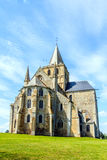 St Vigor Abbey at Cerisy-la Forêt, France. Cerisy-la-Forêt is a French commune in the department of Manche in Normandy region, France Stock Photo