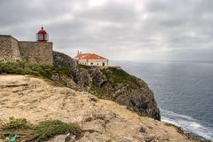 St. Vincent, Algarve, Portugal del cabo Fotos de archivo