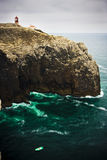St Vincent cape. At the south of Portugal Royalty Free Stock Images