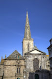 St. Vincent church. Saint-Malo. France Royalty Free Stock Image
