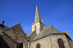 St. Vincent church. Saint-Malo. France Stock Photos