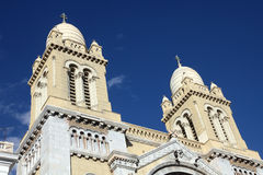 St Vincent de Paul cathedral in Tunis Royalty Free Stock Image