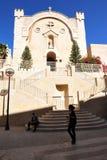 St. Vincent De Paul Monaster w Jerozolimski Izrael Zdjęcia Royalty Free