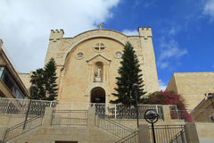 St. Vincent de Paul Monastery in Mamilla Jerusalem, Israel Stock Images