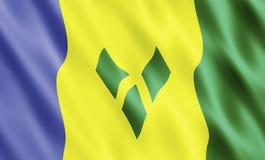 St Vincent et les grenadines Images libres de droits