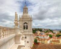 St. Vincent fuera de las paredes, Lisboa del monasterio Imagen de archivo