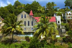 St. Vincent, karibisch Stockbild