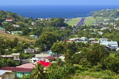 St Vincent panorama, Grenadines Stock Photos