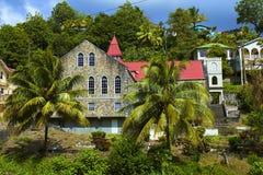 St Vincent som är karibisk Fotografering för Bildbyråer