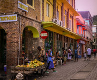 St. Vincent u. die Grenadinen-Insel Stockfoto