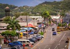 St. Vincent u. die Grenadinen-Insel Stockbilder