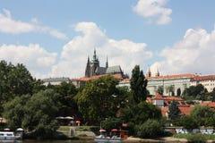 St Vita Church en President Palace Stock Afbeelding