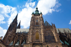 St. Vita`s Cathedral in Prague Stock Images