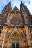 St. Vita`s Cathedral in Prague Stock Image