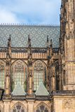 St. Vita`s Cathedral in Prague Royalty Free Stock Photography
