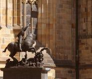 St. Vita`s Cathedral in Prague, Czech Republic Stock Photos