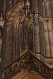 St. Vita`s Cathedral in Prague, Czech Republic Royalty Free Stock Image
