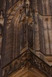 St. Vita`s Cathedral in Prague, Czech Republic Stock Photography