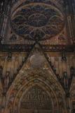 St. Vita`s Cathedral in Prague, Czech Republic Stock Image