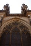 St. Vita`s Cathedral in Prague, Czech Republic Royalty Free Stock Photography