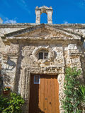 St. Vito Chapel. Monopoli. Apulia. Royalty Free Stock Photos