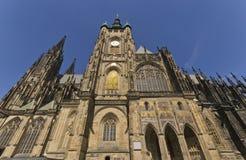St. Vitus大教堂在布拉格 库存照片