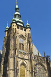 St. Vitus大教堂在布拉格 免版税图库摄影