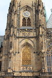 St Vitus大教堂在布拉格 库存图片