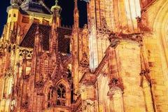 St Vitus大教堂在布拉格 免版税库存照片